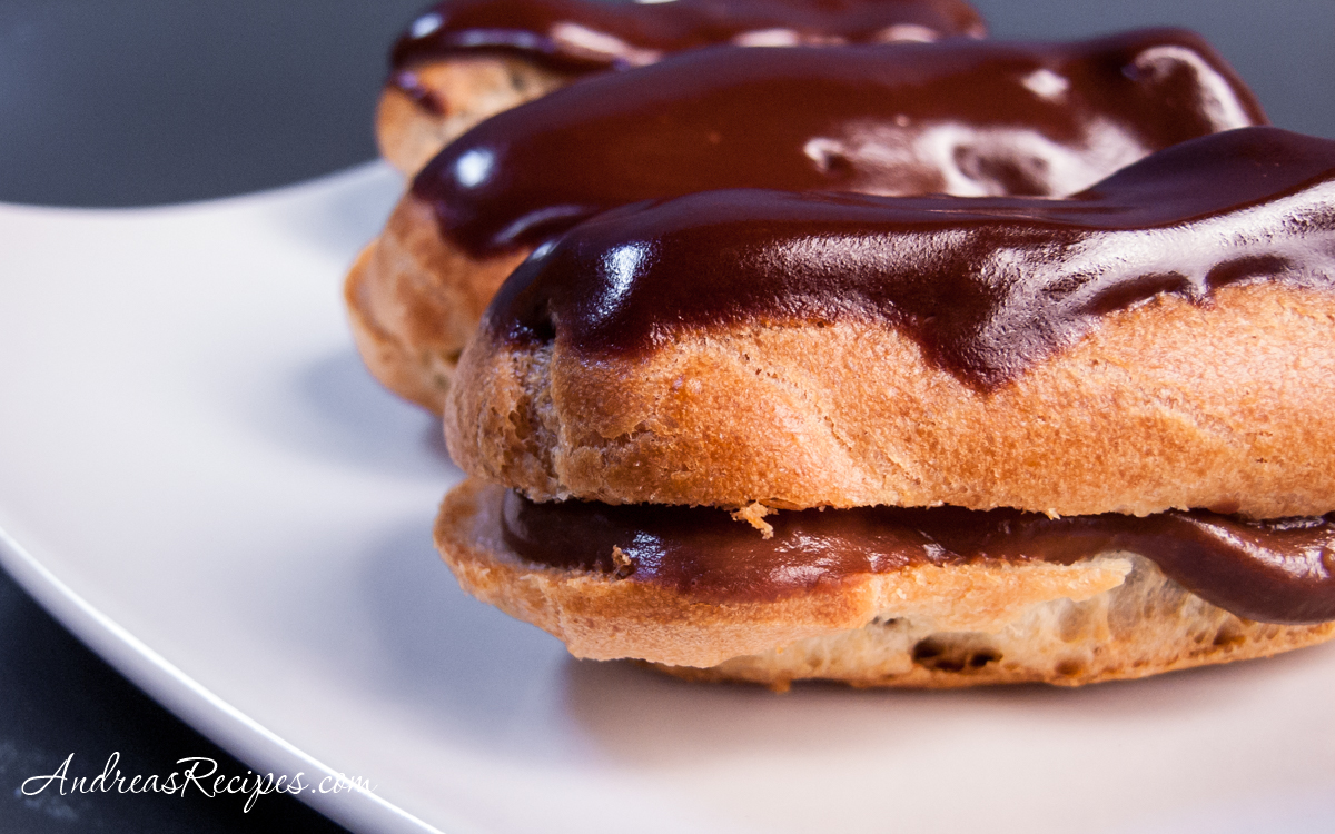 Chocolate Eclairs - Andrea Meyers