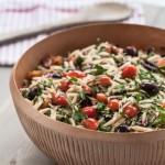 Mediterranean Orzo Salad Recipe - Andrea Meyers