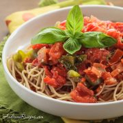 San Marzano Sauce with Peppers - Andrea Meyers