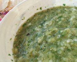 Roasted Green Tomatillo Salsa (aka Salsa Verde)