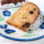 Brown Sugar Cake with Prunes and Apples - Andrea Meyers