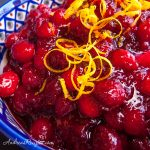 Cranberries with Orange Zest and Port - Andrea Meyers
