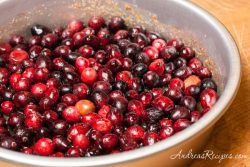 Cranberry Upside Down Cake - Andrea Meyers