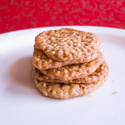 Benne Wafers – 12 Days of Cookies