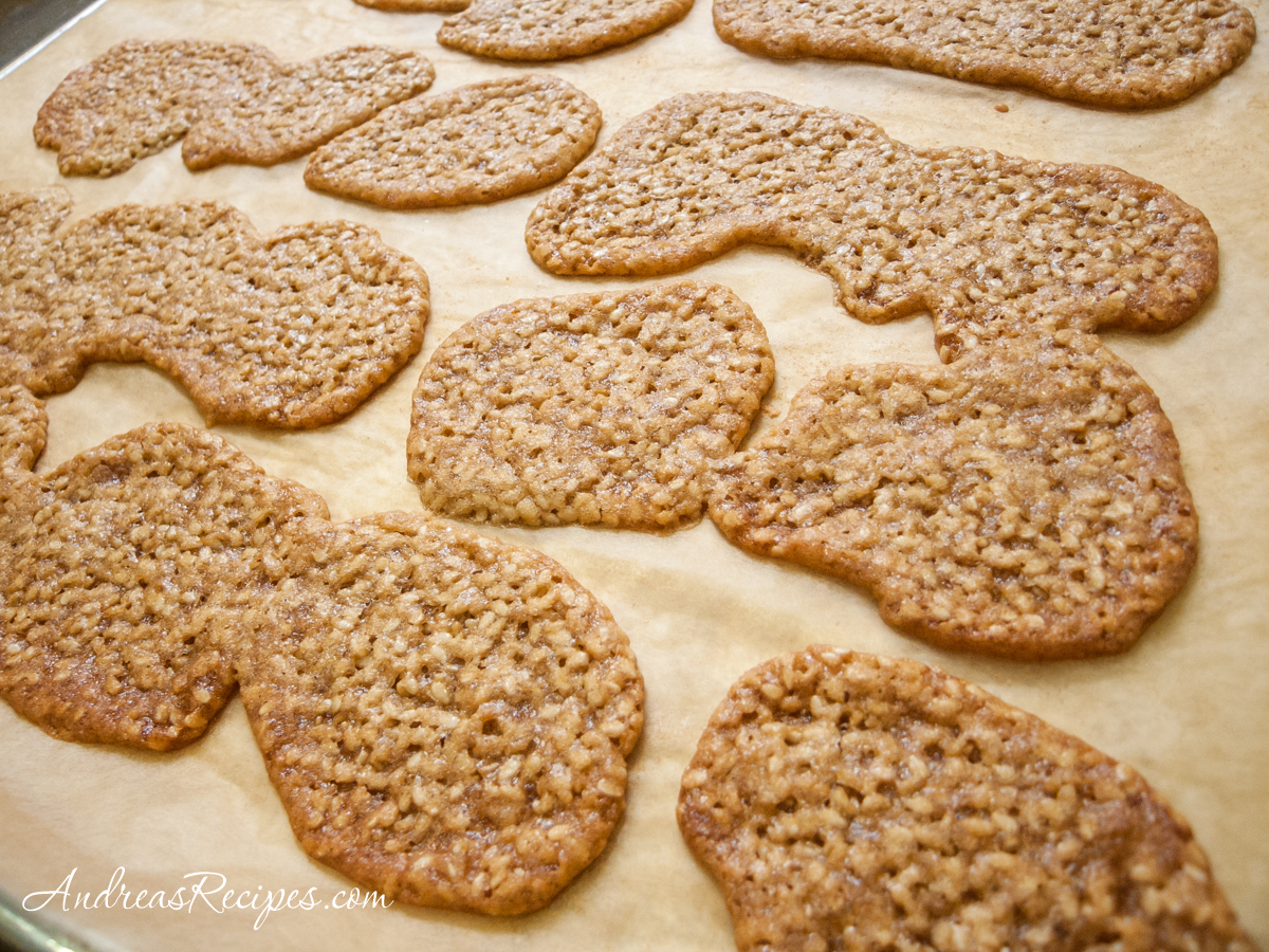 Benne Wafers (first try) - Andrea Meyers