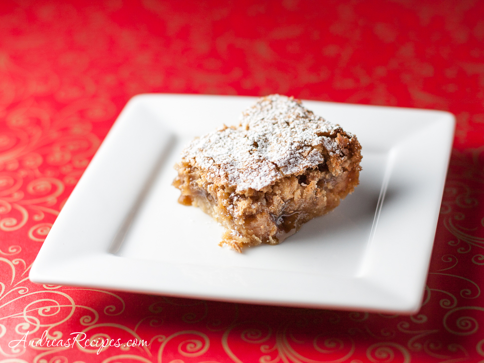 Coconut Bars Cookies - Andrea Meyers