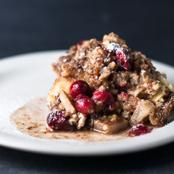 Cranberry Apple French Toast