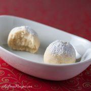 Kourambiedes, Greek Butter Cookies - Andrea Meyers