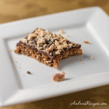 Mocha Toffee Bar Cookies - Andrea Meyers