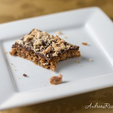 Mocha Toffee Bar Cookies - Andrea Meyers