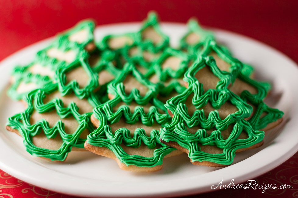 Moravian Christmas Tree Cookies - Andrea Meyers