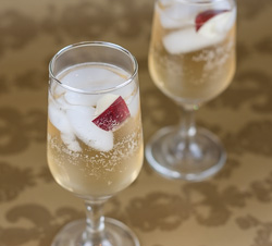Sparkling Apple Cocktail Recipe - Andrea Meyers