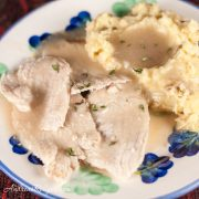 Slow Cooker Turkey Breast and Gravy - Andrea Meyers