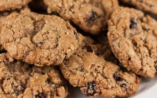 Whole Wheat Oatmeal Cranberry Cookies