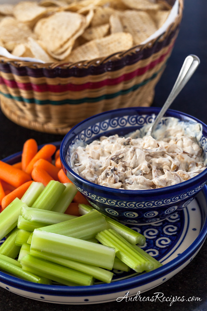 Caramelized Onion Dip - Andrea Meyers
