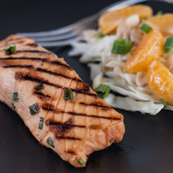 Miso Marinated Grilled Salmon and a Giveaway