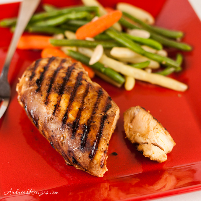 Grilled Peruvian Chicken - Andrea Meyers