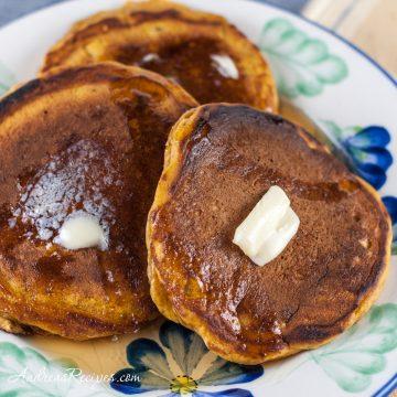 Pumpkin Pancakes - Andrea Meyers