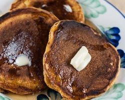Pumpkin Pancakes and a Giveaway