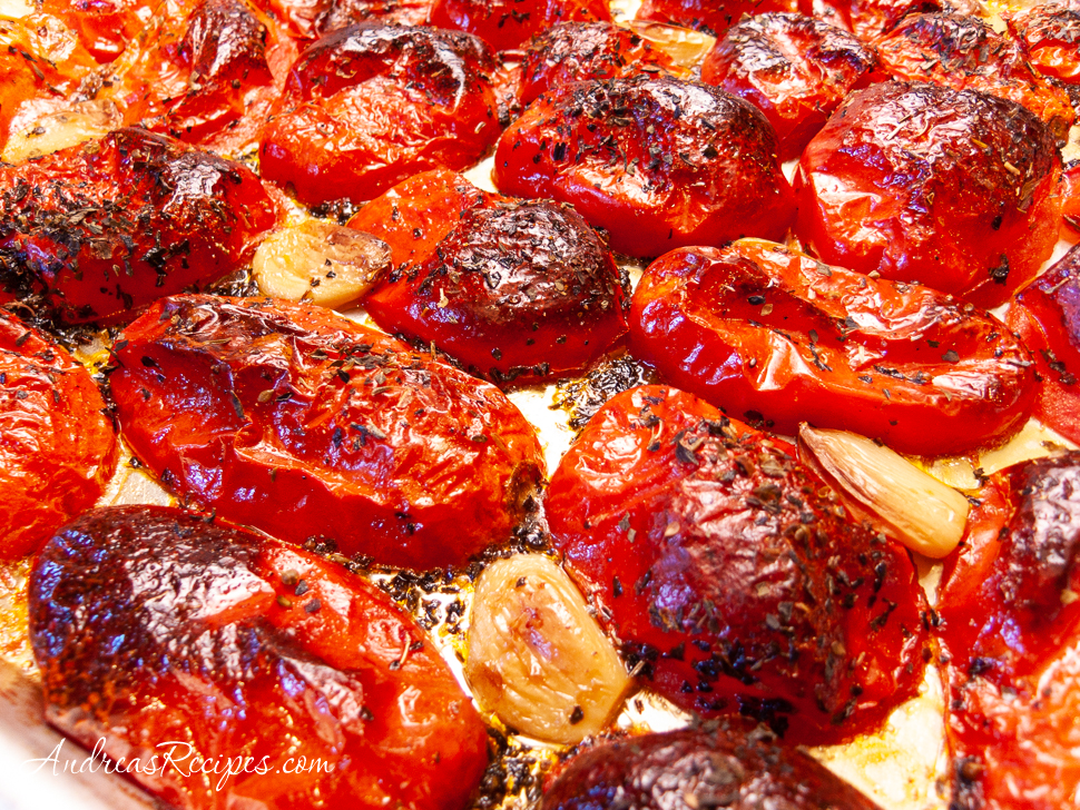 Roasted San Marzano Tomatoes - Andrea Meyers