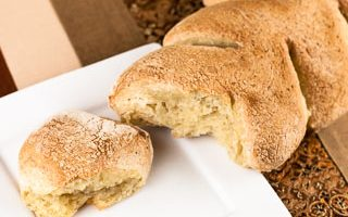 Crusty Cornstalk Rolls