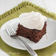 Guinness Gingerbread Cake - Andrea Meyers