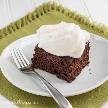 Guinness Gingerbread Cake - Andrea Meyers