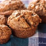 Banana, Bran, and Toasted Walnut Muffins - Andrea Meyers