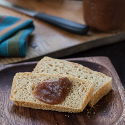 Honey Wheat English Muffin Bread