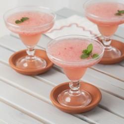 Rhubarb Margarita Cocktail - Andrea Meyers