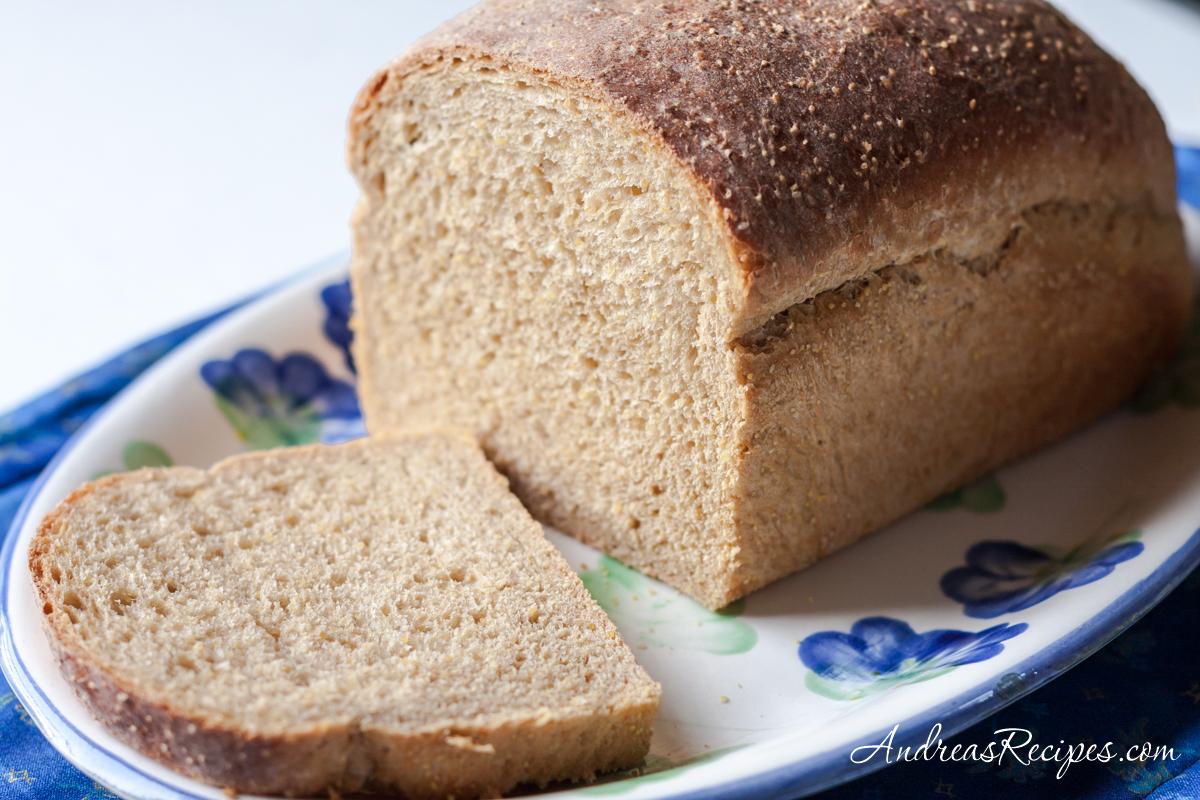 Anadama bread - Andrea Meyers