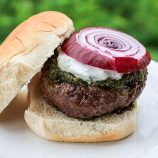 Greek Burger - Andrea Meyers
