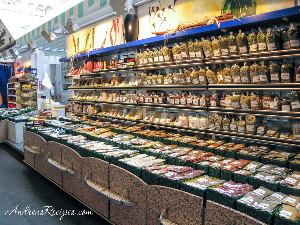 Stuttgart Markthalle, spice shop - Andrea Meyers