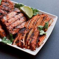 Grilled Adobo Chicken (Pollo Adobado) - Andrea Meyers