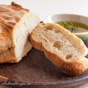 BBA Challenge, ciabatta with olive oil - Andrea Meyers