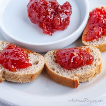 Tomato Jam (Doce de Tomate) - Andrea Meyers