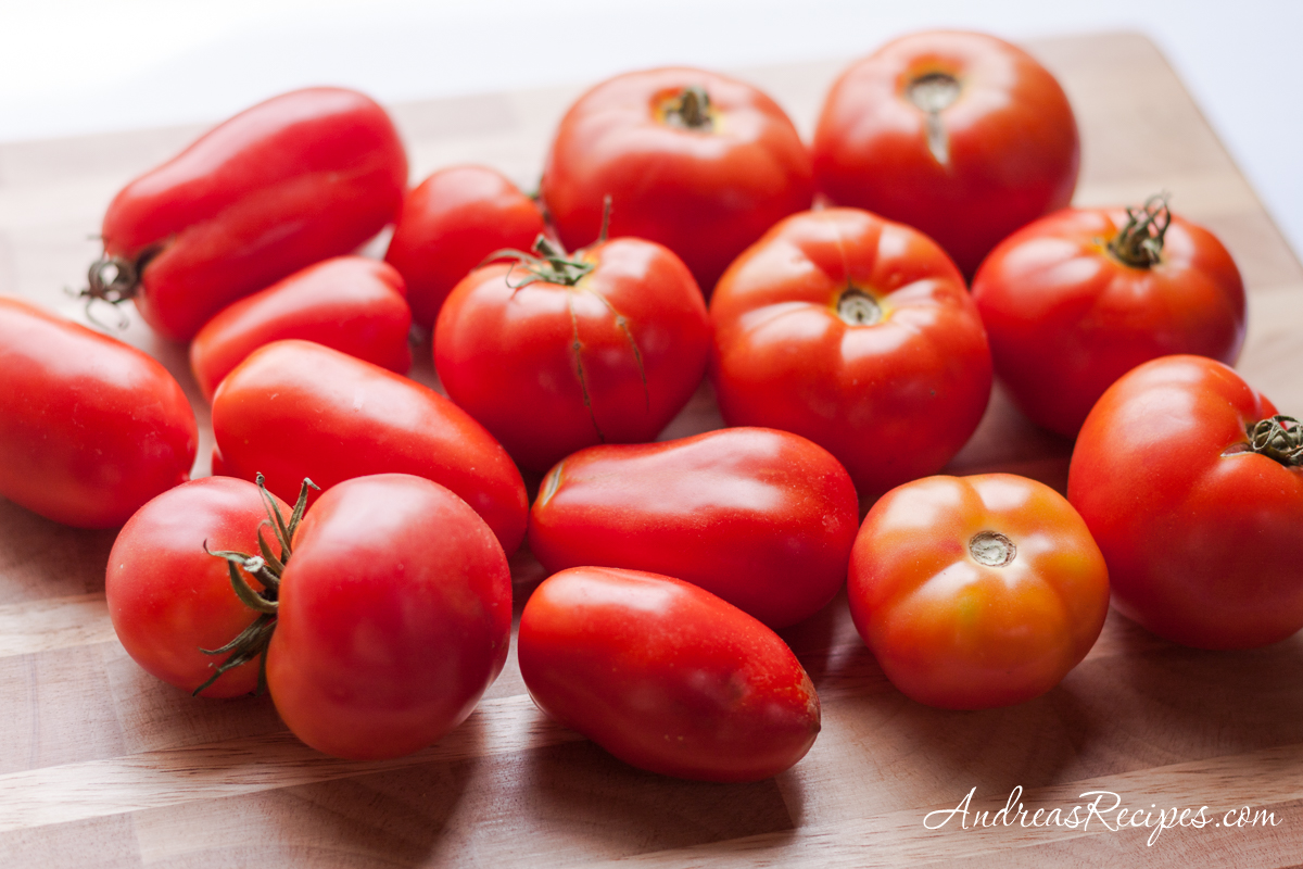 Tomatoes, mixed varieties - Andrea Meyers