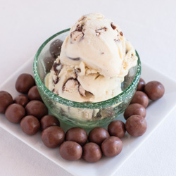 Malted Milk Gelato - Andrea Meyers