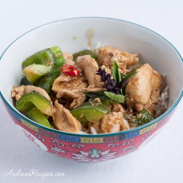 Thai Basil Chicken (Kai Kraphao) - Andrea Meyers