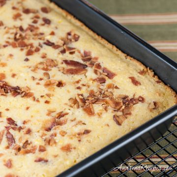BBA Cornbread with bacon - Andrea Meyers