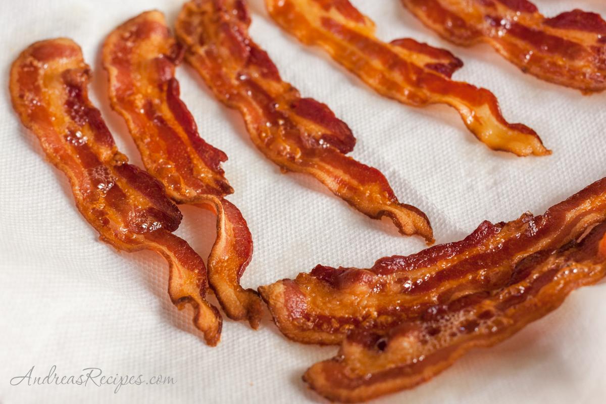 Fried bacon - Andrea Meyers