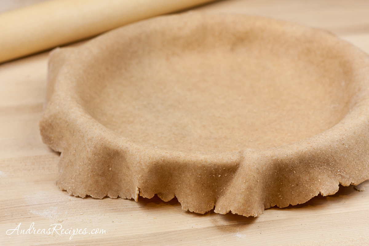 Whole Wheat Pie Dough - Andrea Meyers