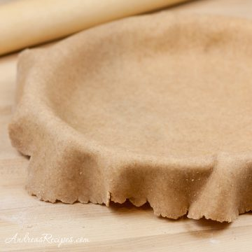 Whole Wheat Pie Dough - Andrea Meyers