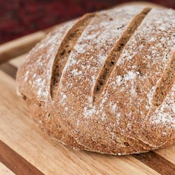 Whole Wheat and Flaxseed Bread