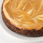 Bourbon Pumpkin Marble Cheesecake Recipe - Andrea Meyers