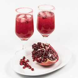 Pomegranate-Ginger-Chile Nojito Cocktail Recipe - Andrea Meyers