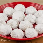 Coconut Orange Snowball Cookies - Andrea Meyers