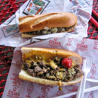 Philly Cheesesteak Throwdown: Pat's versus Geno's