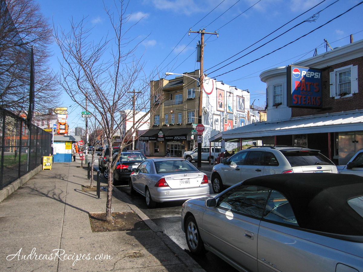 Philly Cheesesteak corner, 9th and Wharton Streets at Passyunk in South Philly - Andrea Meyers