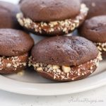 Mini Chocolate Whoopie Pies with Nutella - Andrea Meyers